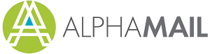 Alpha Mail logo